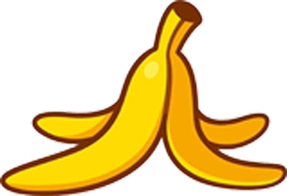 Amazon Com Simple Ripe Yellow Banana Cartoon Art Emoji Vinyl Sticker 4 Wide Peel Arts Crafts Sewing Cartoon banana transparent images (1,024). simple ripe yellow banana cartoon