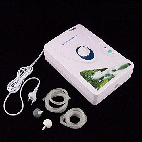 Bargain World 220 V 600 mg/h generador de ozono ozonador aire alimentos vegetales esterilizador purificador