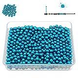 PREDATOR Paintball Kugeln, Cal. 0.40 für Blasrohr und Paintball Markierer, Premium Paintballs + 200, 500, 1000, 3000 Stück + Farben (Blau, 500)