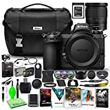 Nikon Z6 24.5MP Mirrorless Digital Camera with 24-70mm Lens (1598) USA Model Deluxe Bundle with Sony 64GB XQD Memory Card + Nikon DSLR Camera Bag + Corel Editing Software + Extra Battery + Filter Kit