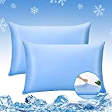 Luxear Smooth Pillowcases 2 Packs, Silky Soft Pillowcase Standard Anti-Static For Hair Skin