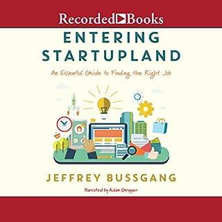 Entering StartupLand cover art