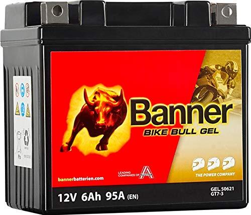 Banner 50621Gel Akku Moto Bike Bull