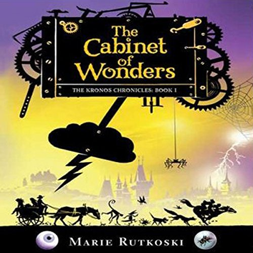 The Cabinet of Wonders audiobook cover art