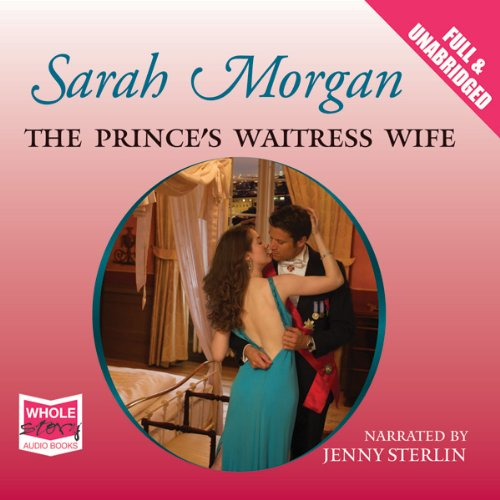 The Prince's Waitress Wife audiobook cover art