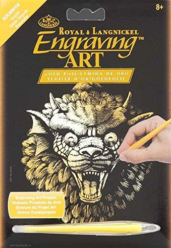 Gargoyle Gold Foil Engraving Art Kit