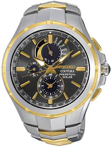 Seiko Coutura Perpetual Solar SSC376P9 Reloj de pulsera para hombre
