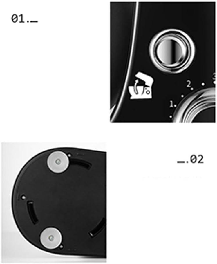 Batteur sur Socle 3,5 L avec Bol, Fouet, Crochet pétrisseur et Batteur Plat en Acier Inoxydable Mélangeur électrique de Cuisine, 6 Vitesses, 400 W,Red White