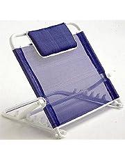Respaldo para cama Areste L110 de Invacare| Evita dolores de espalda y malas posiciones| Color Azul| Regulable en 5 posiciones |Incluye cojín para el cuello|Ligero y no resbala