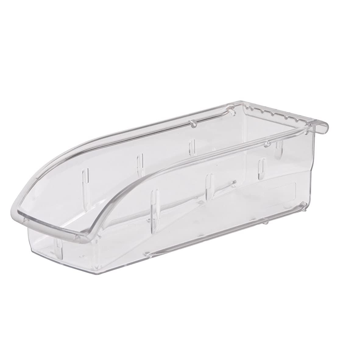 Akro-Mils 305A5 Insight Ultra-Clear Plastic Hanging and Stacking Storage Bin, 10-7/8-Inch Long by 4-1/8-Inch Wide by 3-1/4-Inch Wide, Case of 12