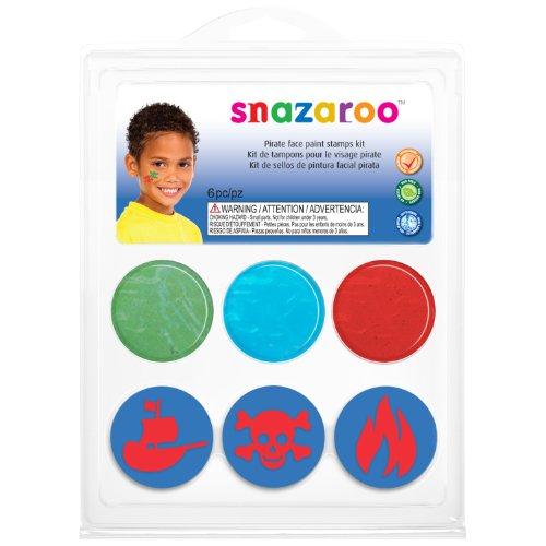 Snazaroo - 766416750556 - Maquillage - Mini Kit - Tampon Garçons