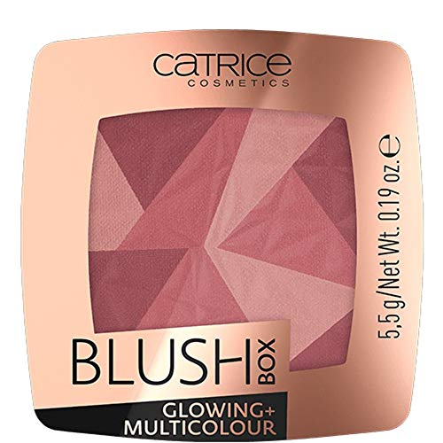 Catrice Blush Box Glowing + Multicolour 020 It´s wine o´clock - 3er Pack