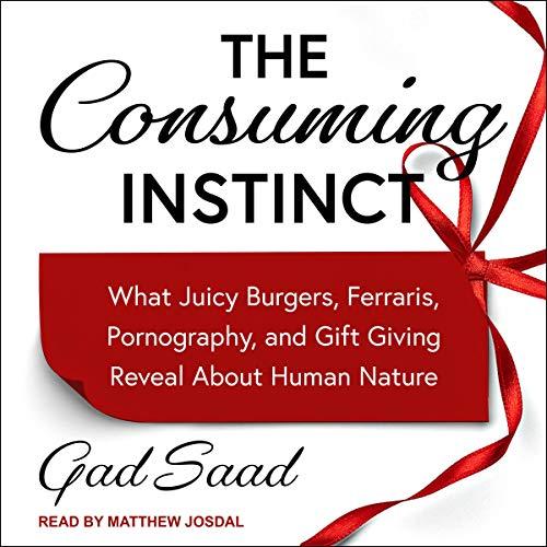 The Consuming Instinct audiobook cover art