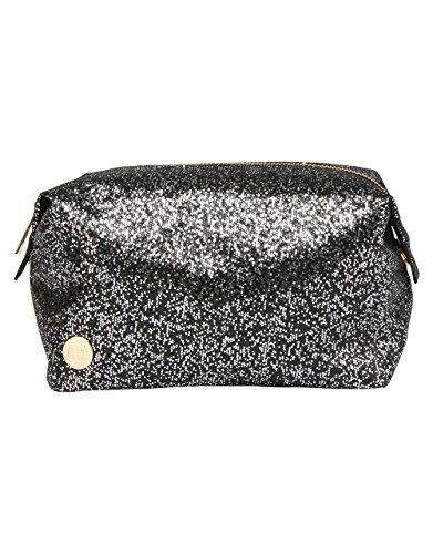 Mi-Pac Mi-Pac Wash Bag Trousse de Toilette, 20 cm, Gris (Glitter Silver/Black)