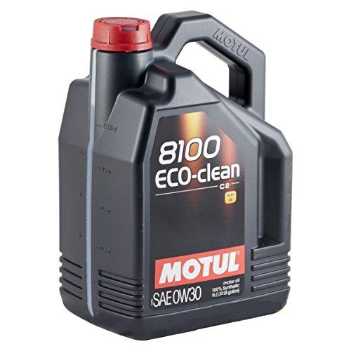 Motul 102889 Motoröl 8100 Eco-Clean 0W-30, 5 L