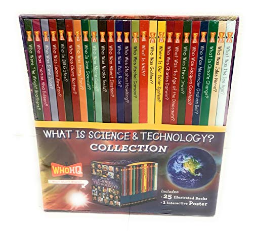 Compare Textbook Prices for What is Science & Technology? Collection 25 Illustrated Books plus 1 Interactive Poster  ISBN 9780593090138 by WHOHQ
