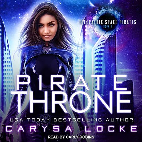 Pirate Throne audiobook cover art