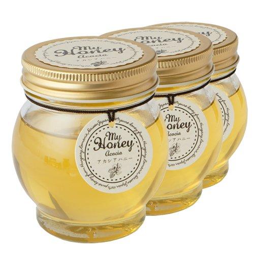 アカシアハニー 蜂蜜 ハチミツ マイハニーシリーズ 200g 産地直送 3瓶