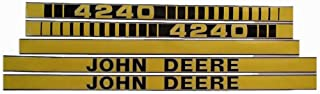 JD4240 New Hood Decal Kit Set Made to fit John Deere Tractor 4240
