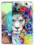 Sunrive Funda Compatible con Sony Xperia L1, Sunrive Silicona Slim Fit Gel Transparente Carcasa Case Bumper de Impactos y Anti-Arañazos Espalda Cover(X León)