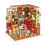 LABULA DIY Holz Bibliothek Haus Modell, Miniatur Puppenhaus Kit Für Mädchen Und Jungen Kinder 14...