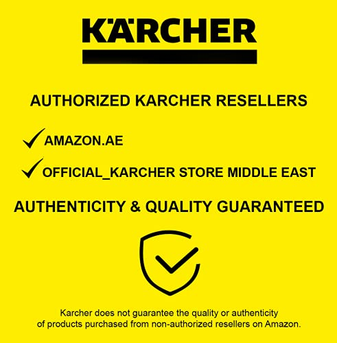 Kärcher K2 Basic Idropulitrice a Freddo, 110 Bar, 360 L/H, 20 M²/H di Pulizia, Pistola Alta Pressione, 1 Lancia, Tubo da 3 m