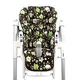 BambiniWelt - Funda de repuesto para silla Peg Perego Prima Pappa Diner (7colores), diseño de búhos Eule Motiv §14