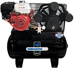 Industrial Air IHA9093080.ES 30-Gallon Gas Powered Truck Mount Air Compressor with Electric Start