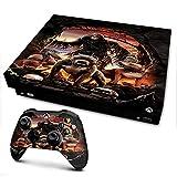 IT'S A SKIN Xbox One X Console & Controller Decal Vinyl Wrap | Grim Reaper Pitbull Skulls