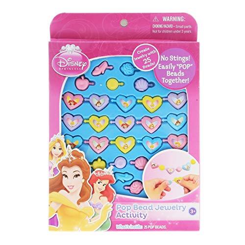 UPD Disney Princess Pop Beads Jewelry 25ct Pack