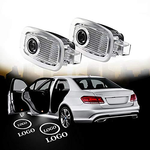2PCS LED Autotür Willkommenslicht Ghost Shadow Lampe Für AMG Logo Projektorleuchten Für Mercedes Benz W221 S Klasse 2006-2013 (AMG word only)