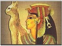 クロスステッチ刺繍キットDIY大人初心者子供-ステッチクラフト針仕事-自分でやる家の装飾のためのアートクロスステッチ11ct40x50cm-エジプトのキャラクター