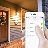 Kasa Smart Light Switch by TP-Link,Single Pole,Needs Neutral Wire,2.4Ghz WiFi Light Switch Works with Alexa and Google Assistant,UL certified, 1-pack(HS200)