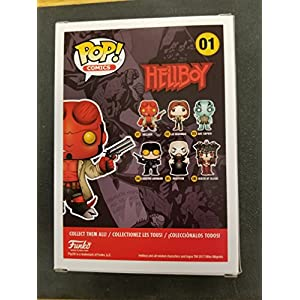 Funko Pop! Vinyl Comics Hellboy with Horns Chase Variant Action Figure