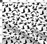 Tauben, Taube, Frieden Stoffe - Individuell Bedruckt von