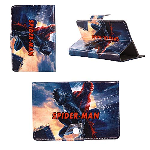 Spider man in Venom - Cartoon children kids universal Case Tablet Cover / 8' inch Tablet - 8' Size compatible with ANY Tablet Model Samsung Ipad Amazon kindle etc