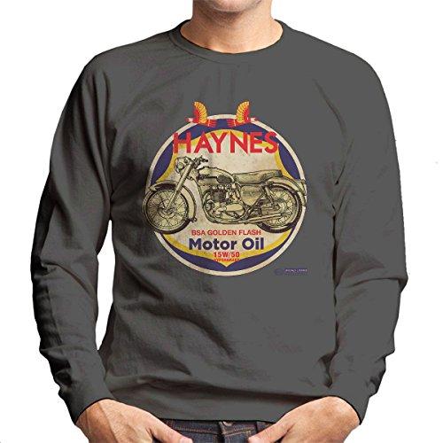POD66 Haynes Merk Richfield BSA Motorolie Heren Sweatshirt