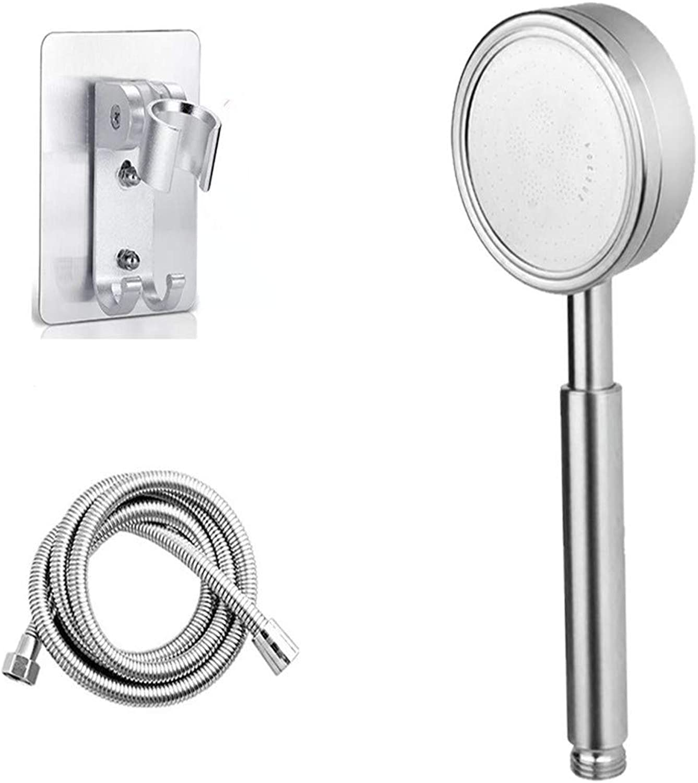 Amber zheng Stainless Steel Shower Head Pressurized, Shower +1.5M Tube + Base