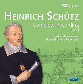 Schütz: Complete Recording