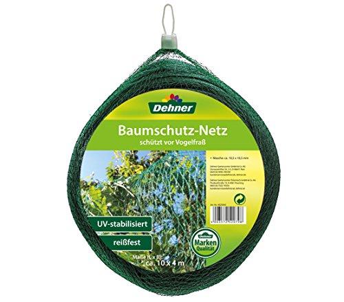 Dehner Baumschutz-Netz zum Schutz vor Vogelfraß, ca. 10 x 4 m, Kunststoff, grün