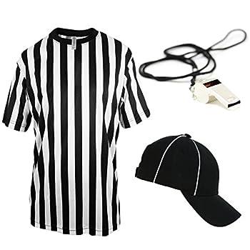 Mato & Hash Children s Referee Shirt Ref Costume Toddlers Kids Teens - Ref Set CA2004K M CA2099 V S/M RW1000