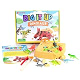 iSTONE Dinosaur Dig Kit 13 Different Dino Toys Archaeology Paleontology Educational Science Gift