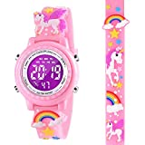 DOTODO Kids Toys for Girls Age 4 5 6 7, Unicorn Watches for Kids Girls Idea Gifts for Kids Age 5-10 Thanksgiving Gifts Birthday Toy for 3 4 5 6 Year Old Girl Stocking Stuffers - Pink