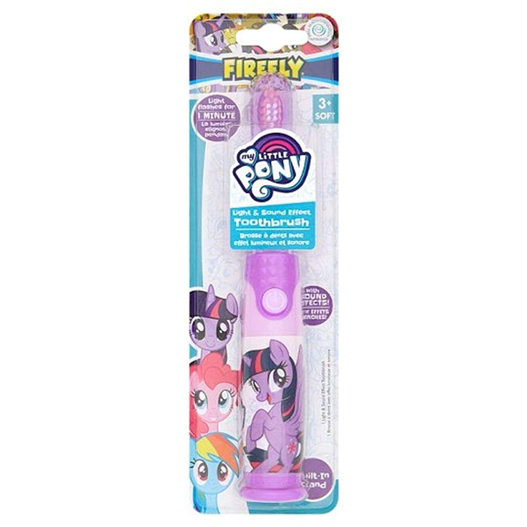 アシスタントプレミアム悪い[Firefly ] 私の小さなポニーのホタルの光と音の歯ブラシ - My Little Pony Firefly Light And Sound Toothbrush [並行輸入品]