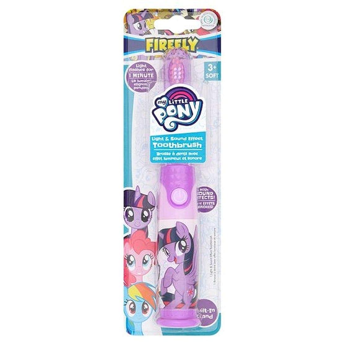 政策ドロー危機[Firefly ] 私の小さなポニーのホタルの光と音の歯ブラシ - My Little Pony Firefly Light And Sound Toothbrush [並行輸入品]
