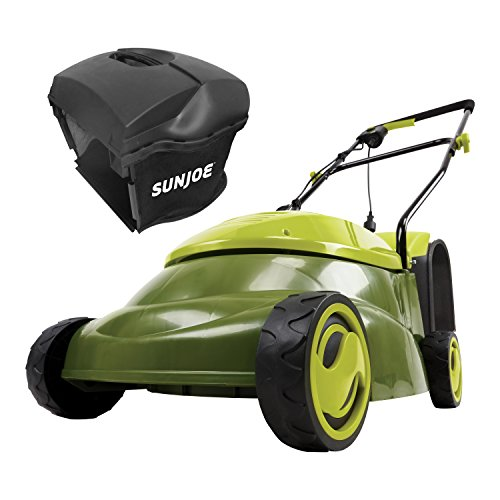"Sun Joe MJ401E-PRO 14 inch 13 Amp Electric Lawn Mower w/Side Discharge Chute, 14"", Green"