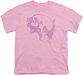 Pink Floyd Pink Animal Unisex Youth T Shirt for Boys and Girls