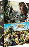 Jack y el Cazador Gigante + Viaje al Centro de la Tierra 2, Isla Misteriosa - Caja de DVD [Francia]