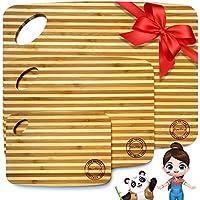 Boelley 3-Piece Natural Bamboo Cutting Board