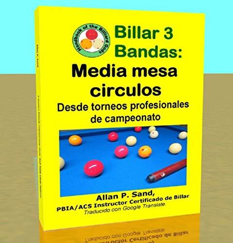 Billar 3 Bandas - Media mesa circulos: Desde torneos profesionales de campeonato